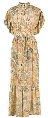 Vanessa Bruno Viscose printed long Nausica dress