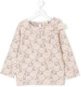 Douuod Kids floral lace blouse