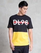 Diamond Supply Co. Black/Yellow DLYC T-Shirt