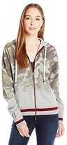 Peace Love World Women's Camo Hoodie