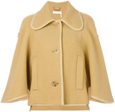 Chloé oversized caped sleeve jacket - women - Polyamide/Viscose/Virgin Wool - 38