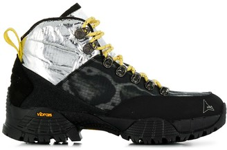 ROA Metallic Panel Sneakers