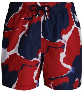 Derek Rose Printed Swim Shorts