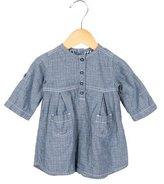 Petit Bateau Girls' Long SleeveButton-Up Shirtdress
