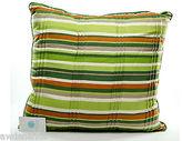 Martha Stewart Living Multi-color Striped Decorative Throw Pillow, 20 X 20