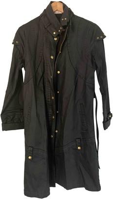 Sass & Bide Black Cotton Trench coats