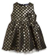 Andy & Evan Toddler's & Little Girl's Jacquard Polka Dot Dress
