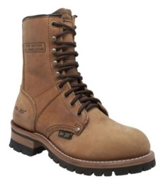 "AdTec Women's 9"" Logger Boot Women's Shoes"