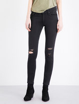 Rag & Bone The Skinny ripped mid-rise jeans
