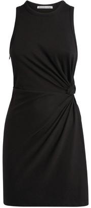 Alexander Wang Twist-Detail Mini Dress