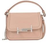 Tod's Women's Pink Leather Shoulder Bag.