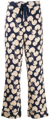 Dvf Diane Von Furstenberg Leaf Kimono Trousers
