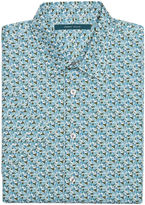 Perry Ellis Short Sleeve Multi-Color Micro-Floral Shirt