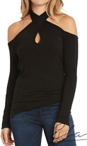 Elan International Twist Neck Top