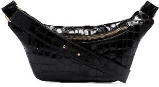 Tara Zadeh Jad mock croc belt bag