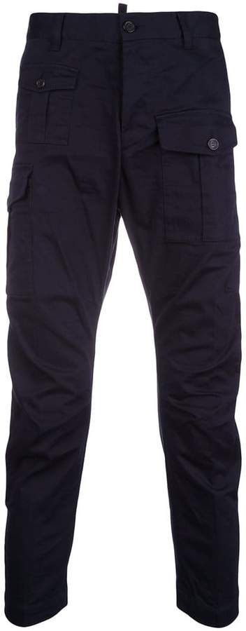 DSQUARED2 slim cargo trousers