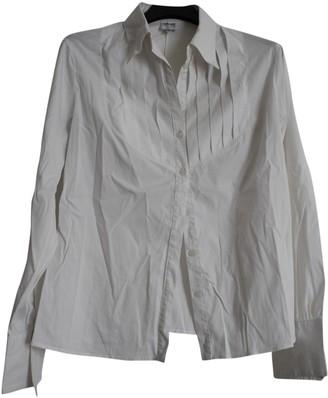 Armani Collezioni White Cotton Top for Women