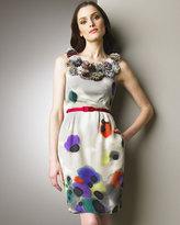Catherine Malandrino  Chiffon Electricity Dress