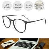 EYEYEE Womens Reading Glasses - Round Shape Light Weight Full Rim TR90 AR Coating(+450)