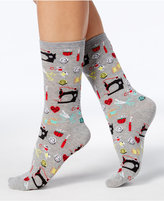 Hot Sox Women's Sewing Supplies Socks