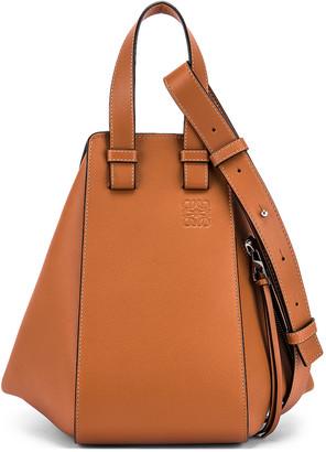 Loewe Hammock Small Bag in Tan | FWRD