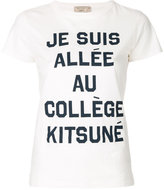 MAISON KITSUNÉ Je Suis Alle T-shirt