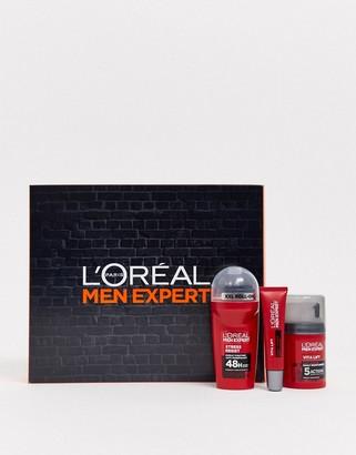 L'Oreal Men Expert Anti Ageing Moisturiser Regime Kit