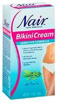 Nair Bikini Cream with Green Tea Sensitive Formula