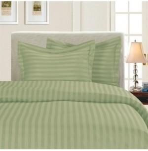 Elegant Comfort Luxurious Silky - Soft Wrinkle Free 3-Piece Stripe Duvet Cover Set, Full/Queen Bedding