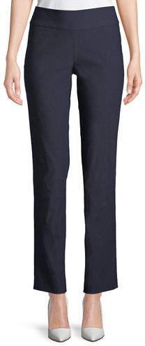 Nic+Zoe Plus Size Wonder Stretch Straight-Leg Pants