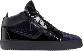 Giuseppe Zanotti Kriss crocodile-effect sneakers