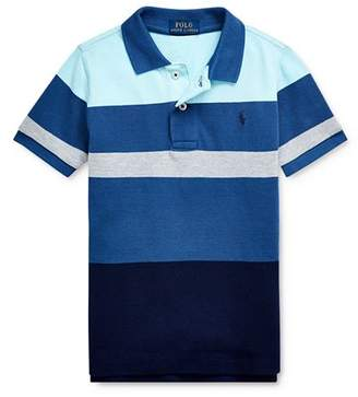 Ralph Lauren Boys' Striped Color-Block Polo Shirt - Little Kid