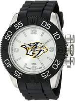 Game Time Men's NHL-BEA-NAS Beast Round Analog Watch
