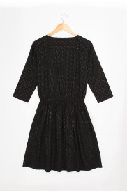 Lowie Black And Gold Dash Dress - M - Black/Gold