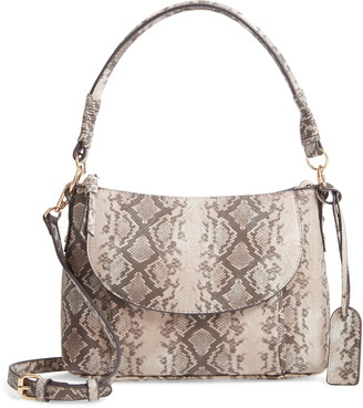 Sole Society Xaire Faux Leather Shoulder Bag
