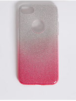 M&S Collection iPhone 7 Glitter Phone Case