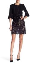 For Love & Lemons Sonya Lace Miniskirt