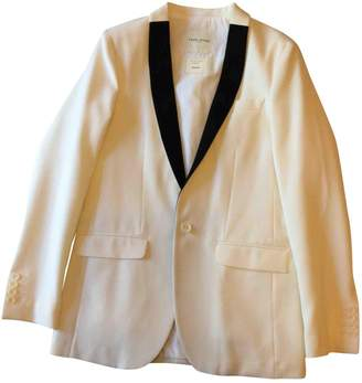 Each X Other Each X White Cotton Jacket for Women