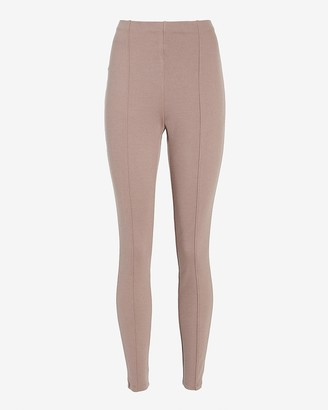 Express High Waisted Pull-On Twill Leggings