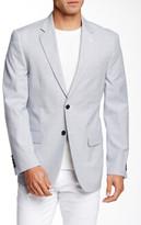 Nautica Blue Pincord Two Button Notch Lapel Suit Separates Jacket