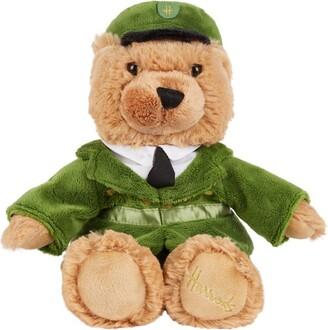 Harrods Green Man London Bear (27cm)