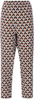 Marni Portrait print trousers