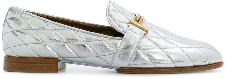 Tod's quilted loafers