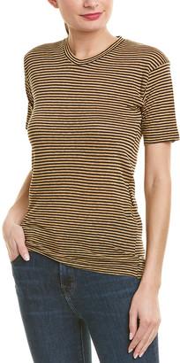 Isabel Marant Etoile Leon Striped Linen And Cotton-Blend T-Shirt
