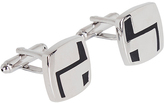 Oxford Cufflinks Zigzag Slvr X