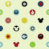 York Wall Coverings York wallcoverings Disney's Mickey Mouse Clubhouse Removable Wallpaper