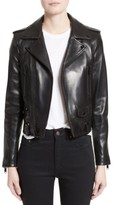 Saint Laurent Women's Leather Moto Jacket