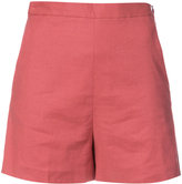 Theory high waist shorts - women - Linen/Flax/Viscose/Sinflex - 2