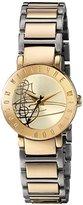Vivienne Westwood Women's VV089GDTT Sudbury Analog Display Swiss Quartz Two Tone Watch