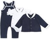 Armani Junior penguin print gift set - kids - Cotton - 3 mth